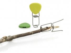 Fire Fork, set 2 stuks, Lime/Green