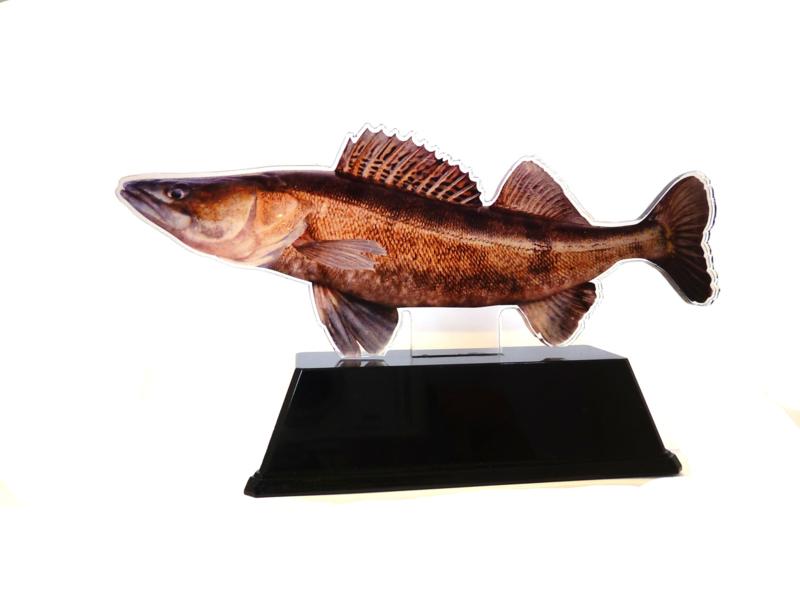 Vistrofee Real Fish – Snoekbaars 17 cm
