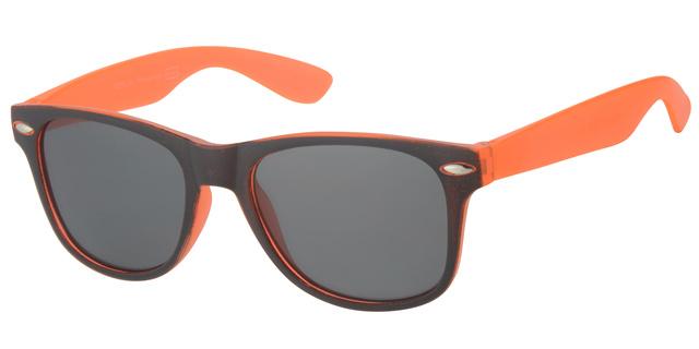 Kinderzonnebril 5 - 8 jaar Orange and Black Jongens & Meisjes