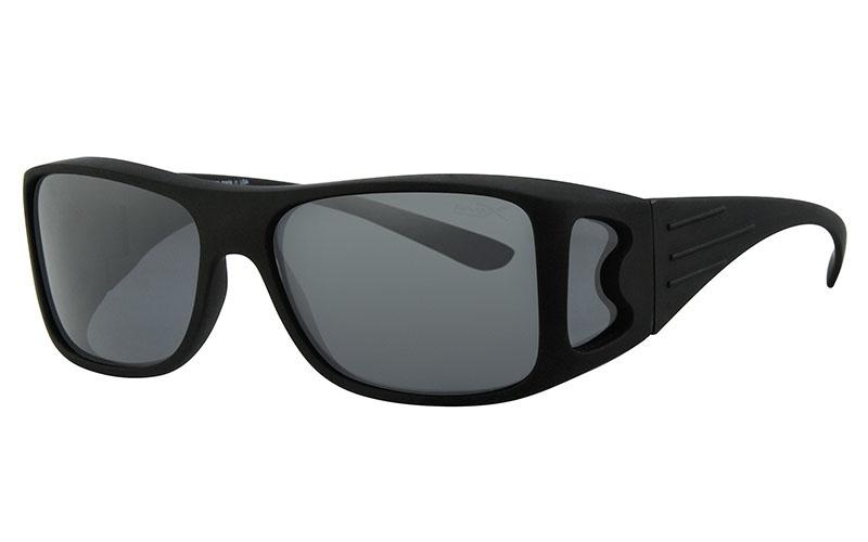 Polariserende Overzetzonnebril XL Black Master