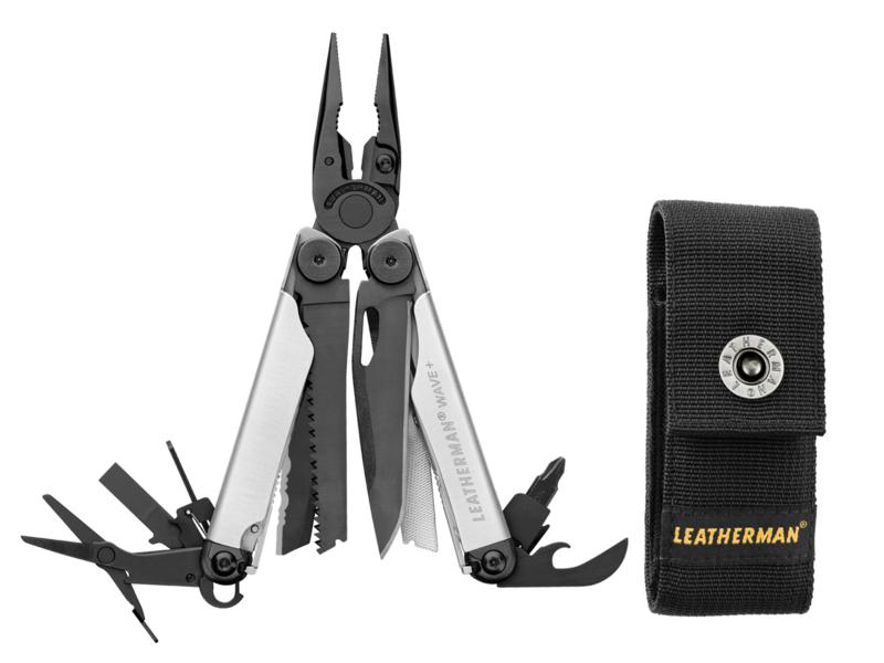 Leatherman Wave Plus+ Black & Silver Multitool