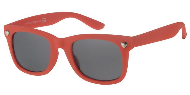 Kinderzonnebril 5 - 8 jaar Meisjes Fashion Red