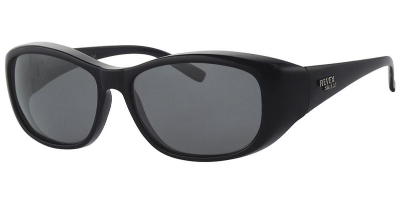 Polariserende Overzetzonnebril – Black Mamba