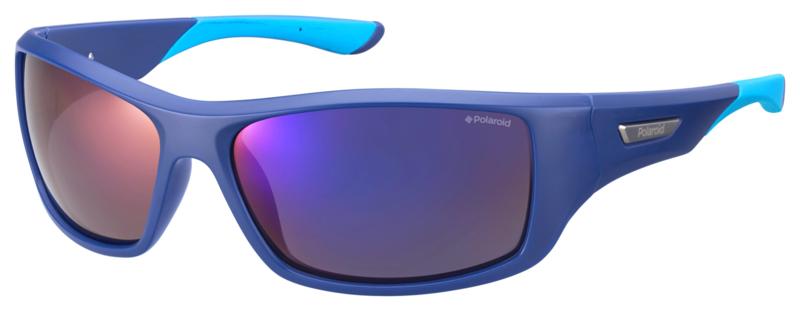 Polaroid® Zonnebril Ocean Blue met Spiegellenzen