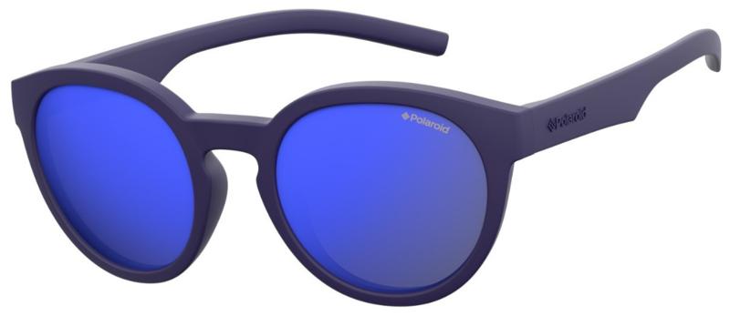 Polaroid® Onbreekbare Lichtgewicht Kinderzonnebril 4 - 10 jaar Sunny Blue