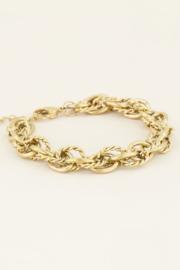 My Jewellery - Armband verschillende schakels