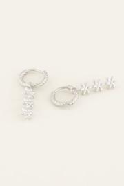My Jewellery - Oorbellen drie bloemetjes