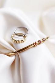 My Jewellery - Bangle drie bloemetjes
