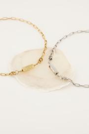 My Jewellery - Schakelketting met love bedel