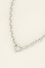 My Jewellery - Schakelketting met hartjes sluiting