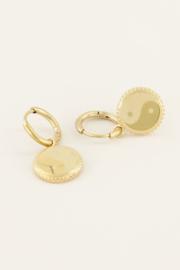 My Jewellery - Oorbellen yin & yang