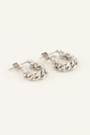 My Jewellery - Oorbellen lange schakels