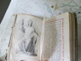 Frans gebedenboekje uit +/- 1879 - Paroissien Romain