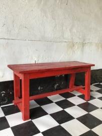 Oud Frans houten bankje
