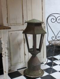 Oude lantaarn - WORDT NIET VERSTUURD, GRAAG AFHALEN