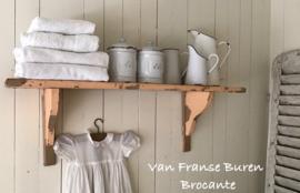 Oud Frans regaal - keukenrek in afbladderende  verf - VERKOCHT/SOLD