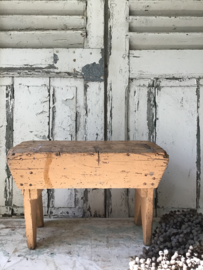 Sleets Frans vensterbankje - opstapje - hockertje - krukje
