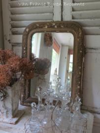 sleetse goudkleurige Franse spiegel- ONDER OPTIE SH