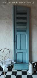 oud Frans blauw luik - SOLD