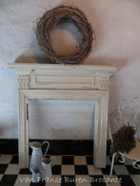 oude Franse houten schouw - VERKOCHT/SOLD