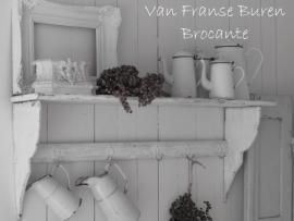 oud Frans wit regaal - SOLD*