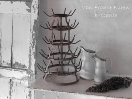 Frans flessenrek / droogrek voor flessen - SOLD*