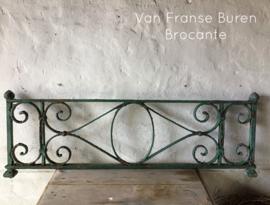 Oud Frans gietijzeren raamrek - grille - rooster