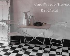 IJzeren Franse tuintafel/ bistrotafel inklapbaar -SOLD*