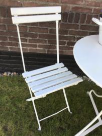 Franse bistrostoel - tuinstoeltje- terrasstoel