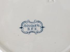 6 bordjes BKF  uit begin 1900