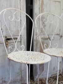 2  Franse tuinstoeltjes - SOLD*