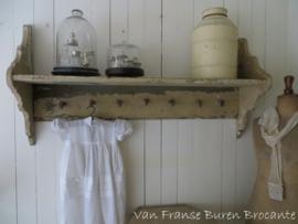 shabby Frans regaal -keukenrek - SOLD