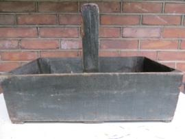 Frans houten timmermansbak - plukbak