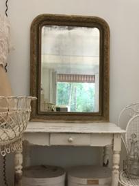 Antieke Franse spiegel Louis Philippe stijl 19e eeuw