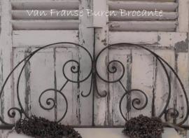 Frans smeedijzeren ornament - SOLD*