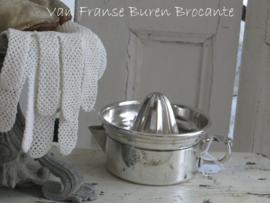 Franse hotelzilveren sianaasappelpers