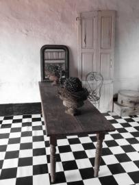 lange oude Franse tafel  - SOLD*