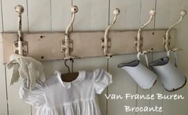 Oud Frans puur Brocante kapstokje - kapstok - VERKOCHT/SOLD
