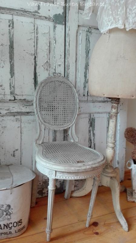 antiek Frans strikstoeltje