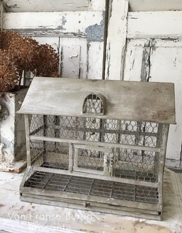 Franse  zinken vogelkooi