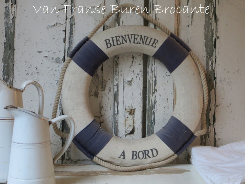 Franse kleine reddingsboei - VERKOCHT/SOLD