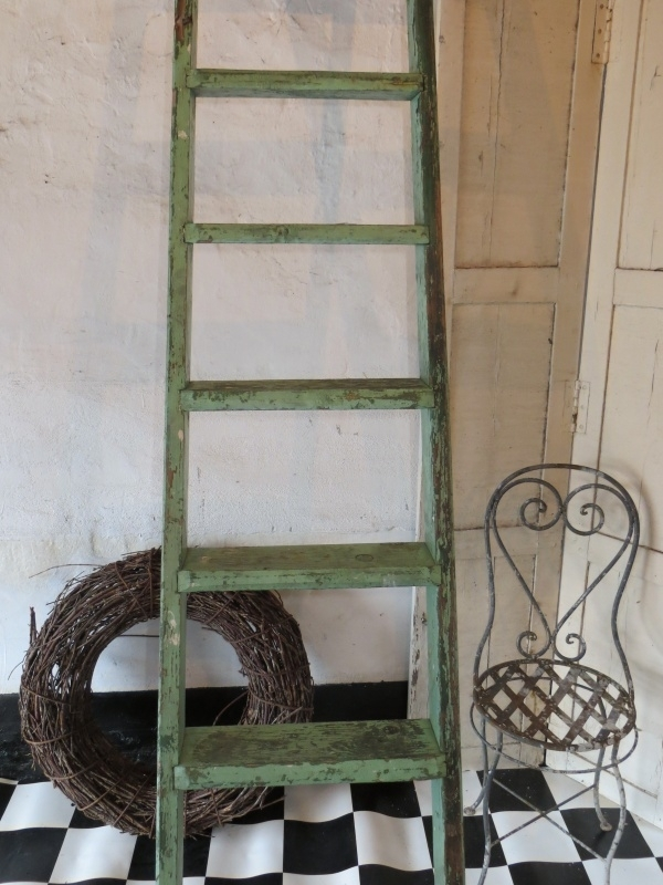 Franse sleetse ladder - SOLD*