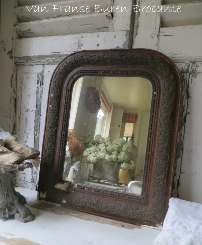 oud Frans  spiegeltje - VERKOCHT/SOLD
