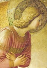 Verkondiging aan Maria (detail), Fra Angelico