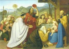 Aanbidding van de Koningen, Friedrich Overbeck