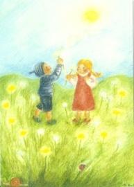 Juni, maandkaart Ilona Bock