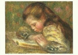 Lezend kind, Auguste Renoir