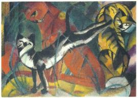 Drie katten, Franz Marc