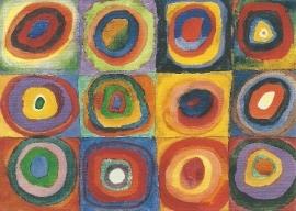 Kleurenstudie, Wassily Kandinsky