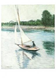 Zeilboot op de Seine bij Argenteuil, Gustave Caillebotte